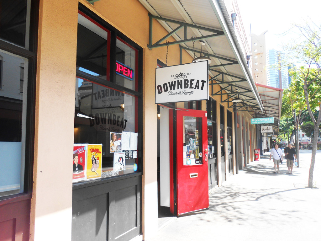 downbeat store front